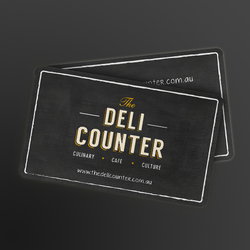 Design de logo para The Deli Counter por kendhie