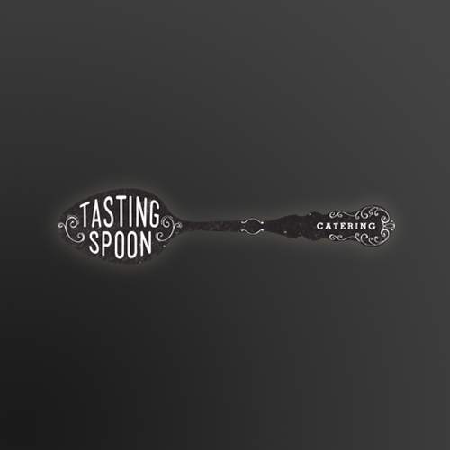 Logo & brand identity pack for Tasting Spoon Catering by S-A-V