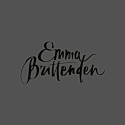 Logo design for Emma Brittenden by Kurt Bzzz