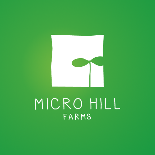 Logo & business card for Micro Hill Farms by pecas