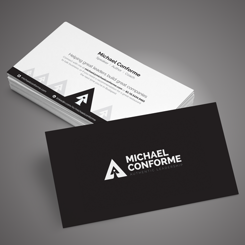 ロゴ&名刺 for MichaelConforme by Adwindesign