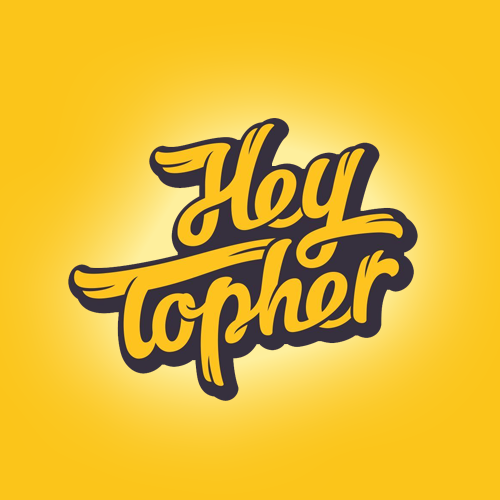 Logo & business card for Hey Topher by grafian