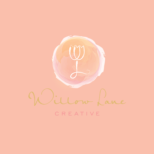 Logotipo y tarjeta de visita para Willow Lane Creative por pecas