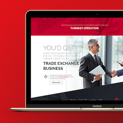 Logo per World Trade Exchange di galinka