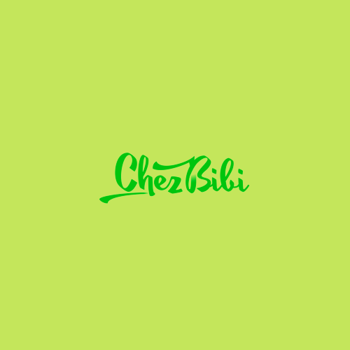 Logo & hosted website for Chez Bibi by mollim