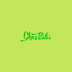 Logo design for Chez Bibi by mollim