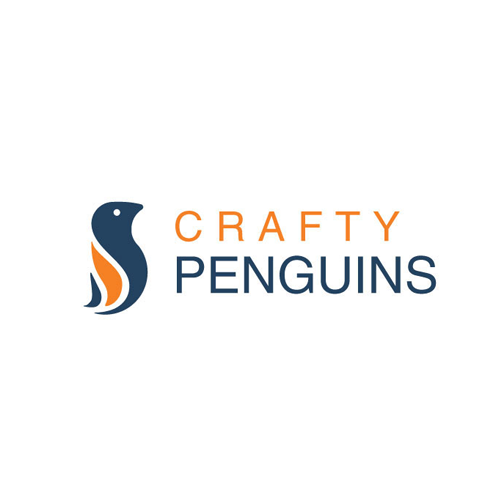 Logo & hosted website for Crafty Penguins by *AyM