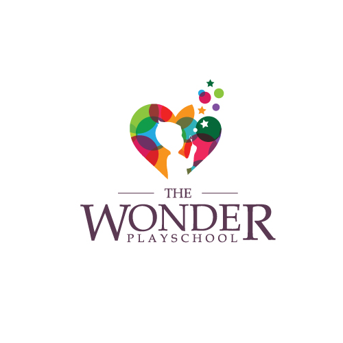 Logo design for the wonder playschool by AZAK