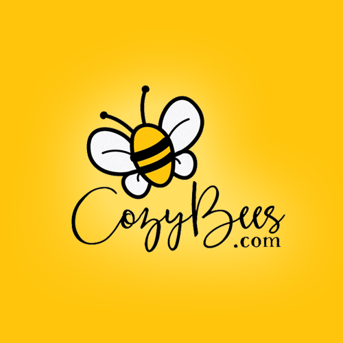 Logo & hosted website for CozyBees.com by evey81