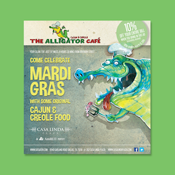Logo design for Alligator Cafe by Evilltimm