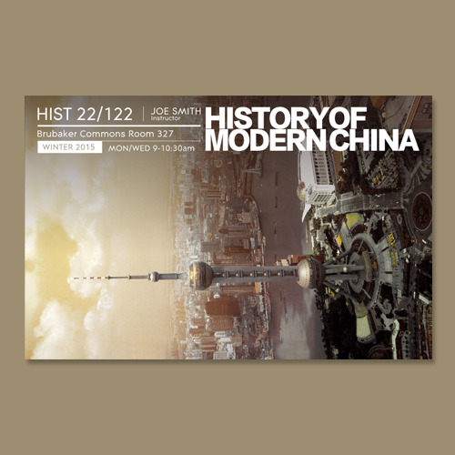 Postcard, flyer or print for Chinese History by Litlast