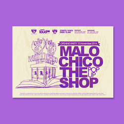 Logo design for Malo CHico by Litlast