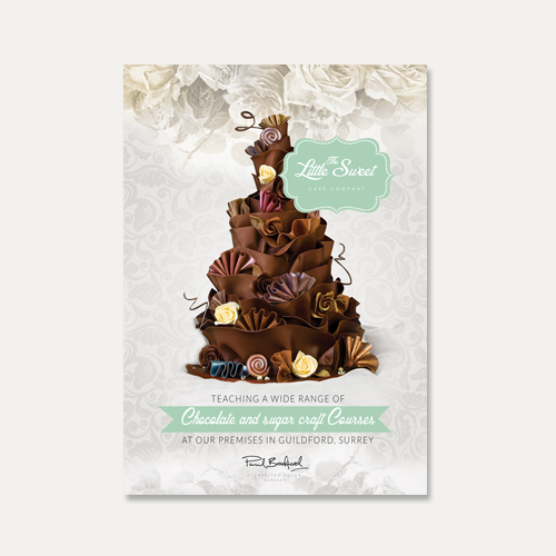 Postcard, flyer or print for The Little Sweet Cake Company by GreenCherry