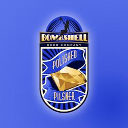 Création de logopour Bombshell Beer réalisé par Bence Balaton