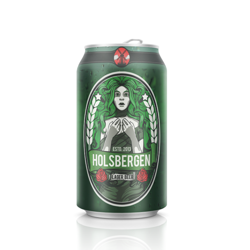 Product label for HOLSBERGEN by Bence Balaton