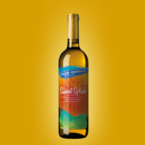 Product label for Door Peninsula Winery by HollyM