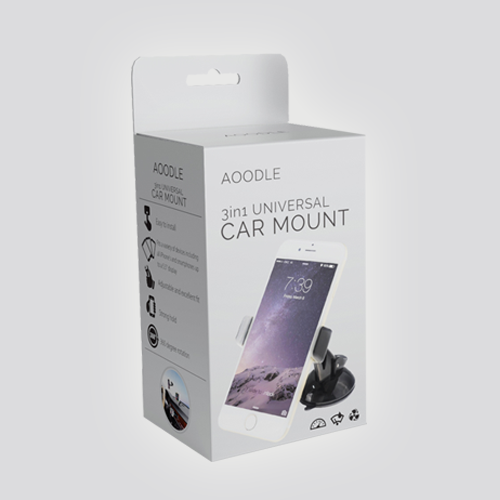 Product packaging for Aoodle by syakuro