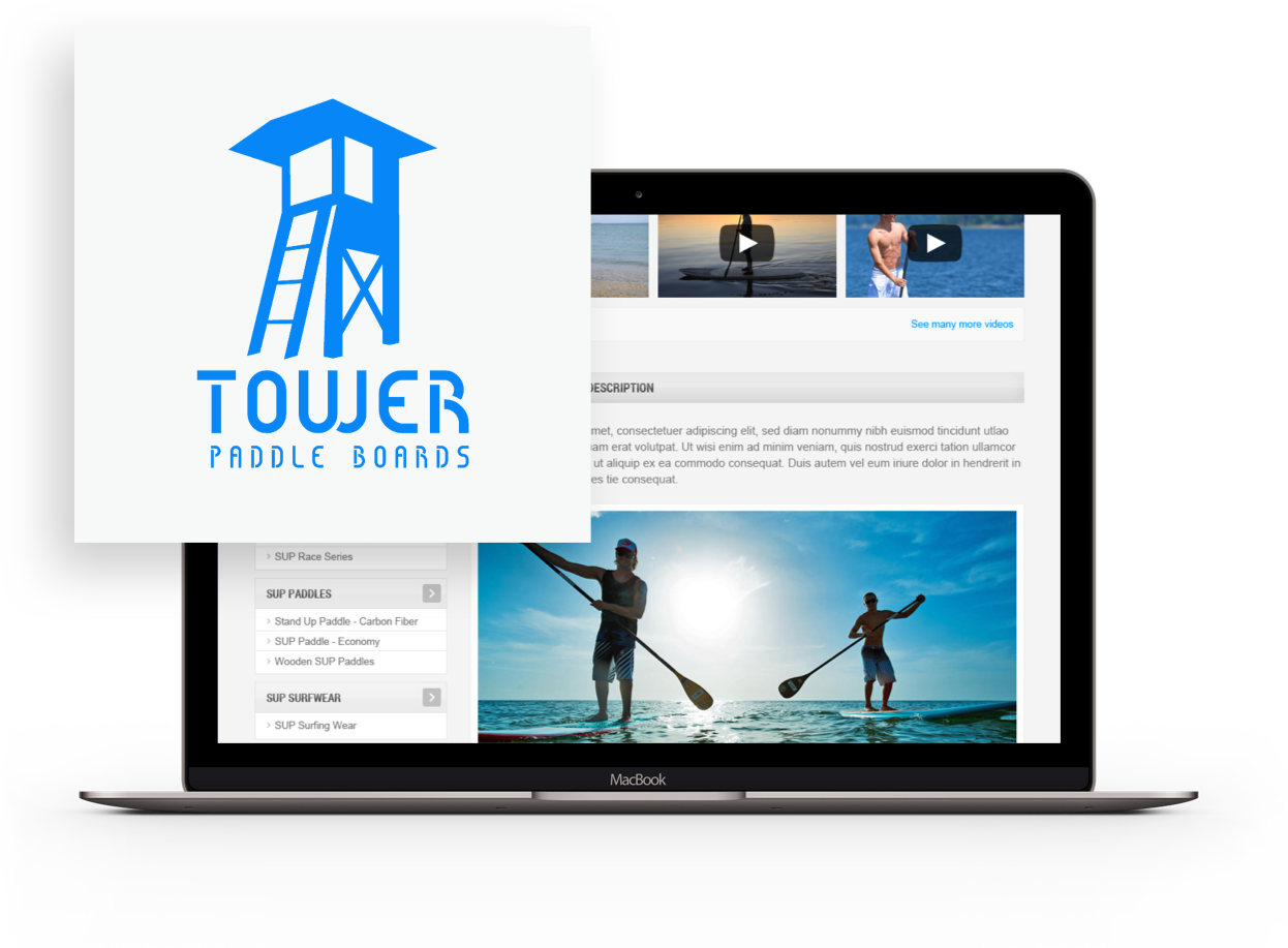 Tower Paddle Boards Logo