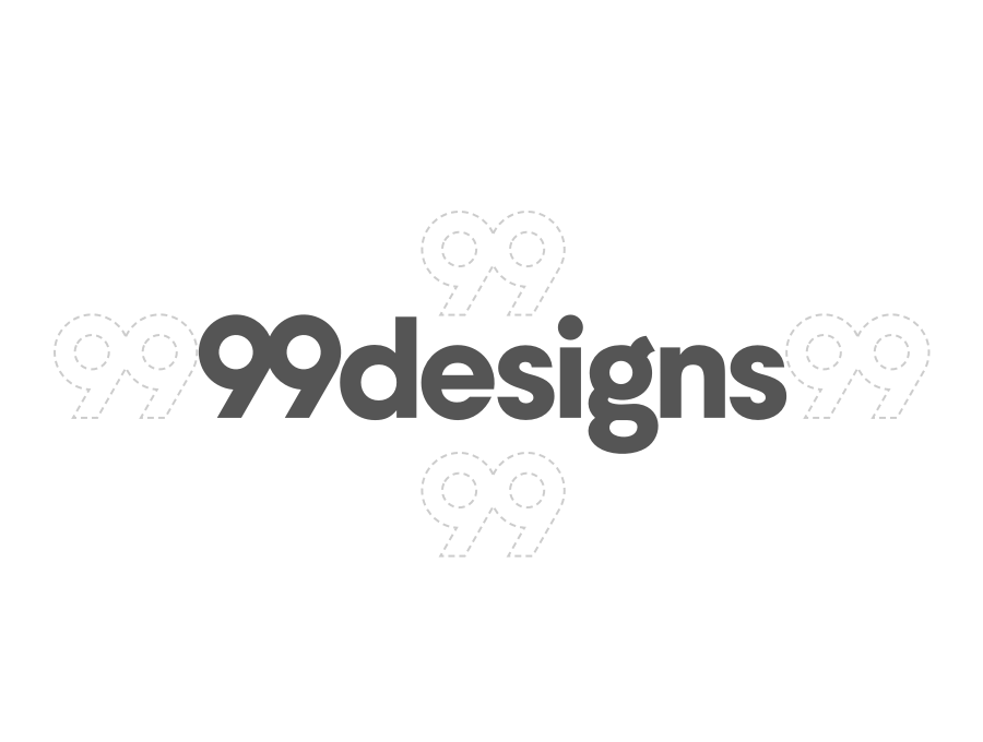 99designs wordmark usage