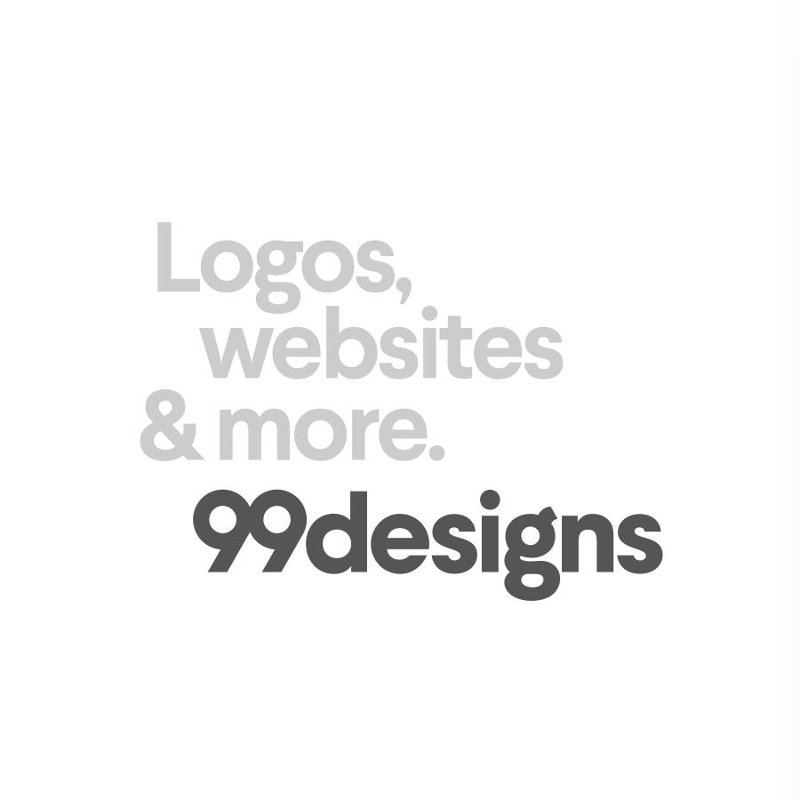 99designs タグライン/ロゴタイプロックアップ