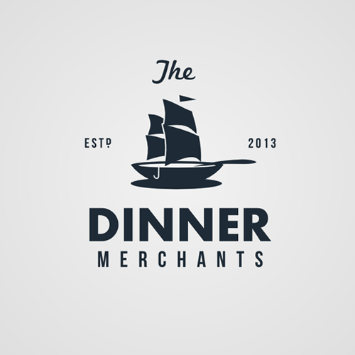 Logotipos para The Dinner Merchants por Widakk
