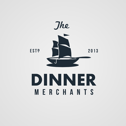 Logopour The Dinner Merchants réalisé par Widakk