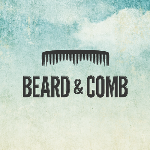 Logo design for Beard & Comb by OrangeCrush