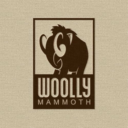 Design de logotipos para Woolly Mammoth por Dima Che