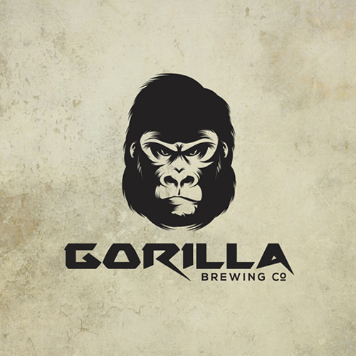 Logo design for Gorilla Brewing Co. by maximage