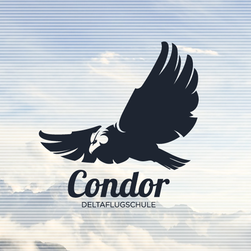 Logo design for Deltaflugschule Condor by Sava Stoic