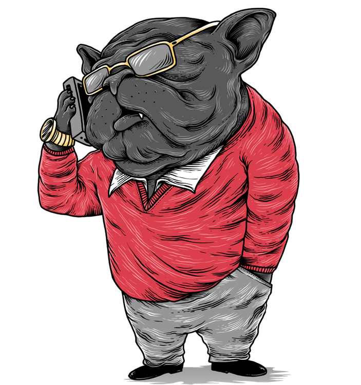 Barry the bulldog agent is fired up to get you a job!