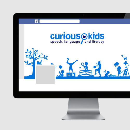 Logo e social media per Curious Kids di arsy/graphics