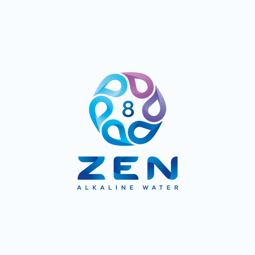 Logo & social media pakket voor Zen Water door GT Designs