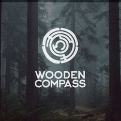 Design de logo para Wooden Compass por danhood