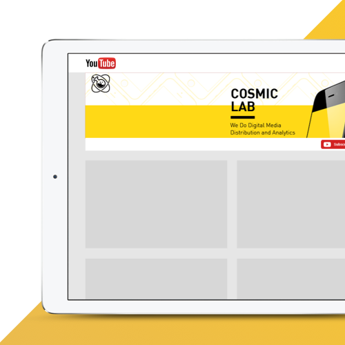 Logo & social media pack for Cosmic Lab by Lumix Productions