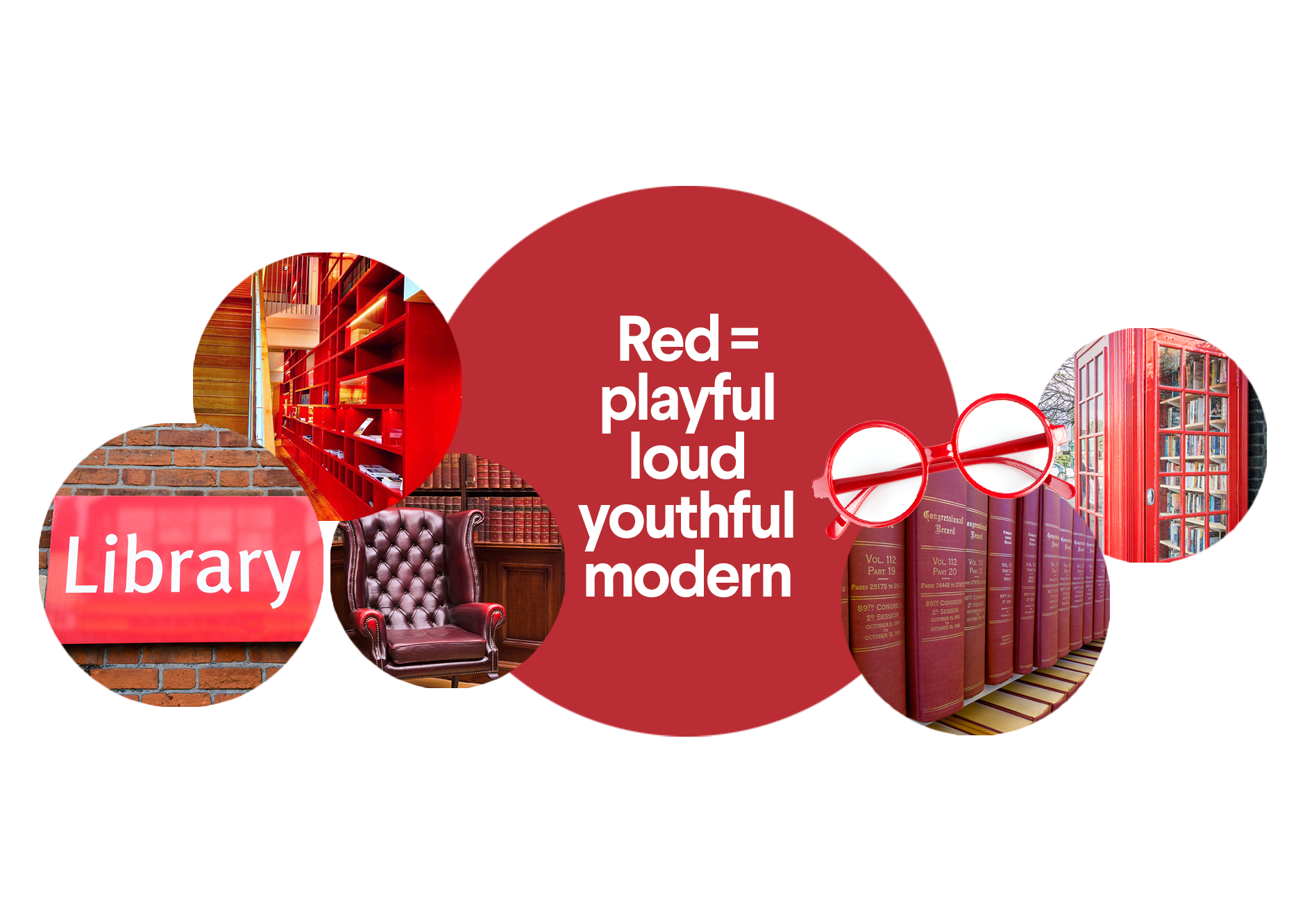 Red brand color inspiration