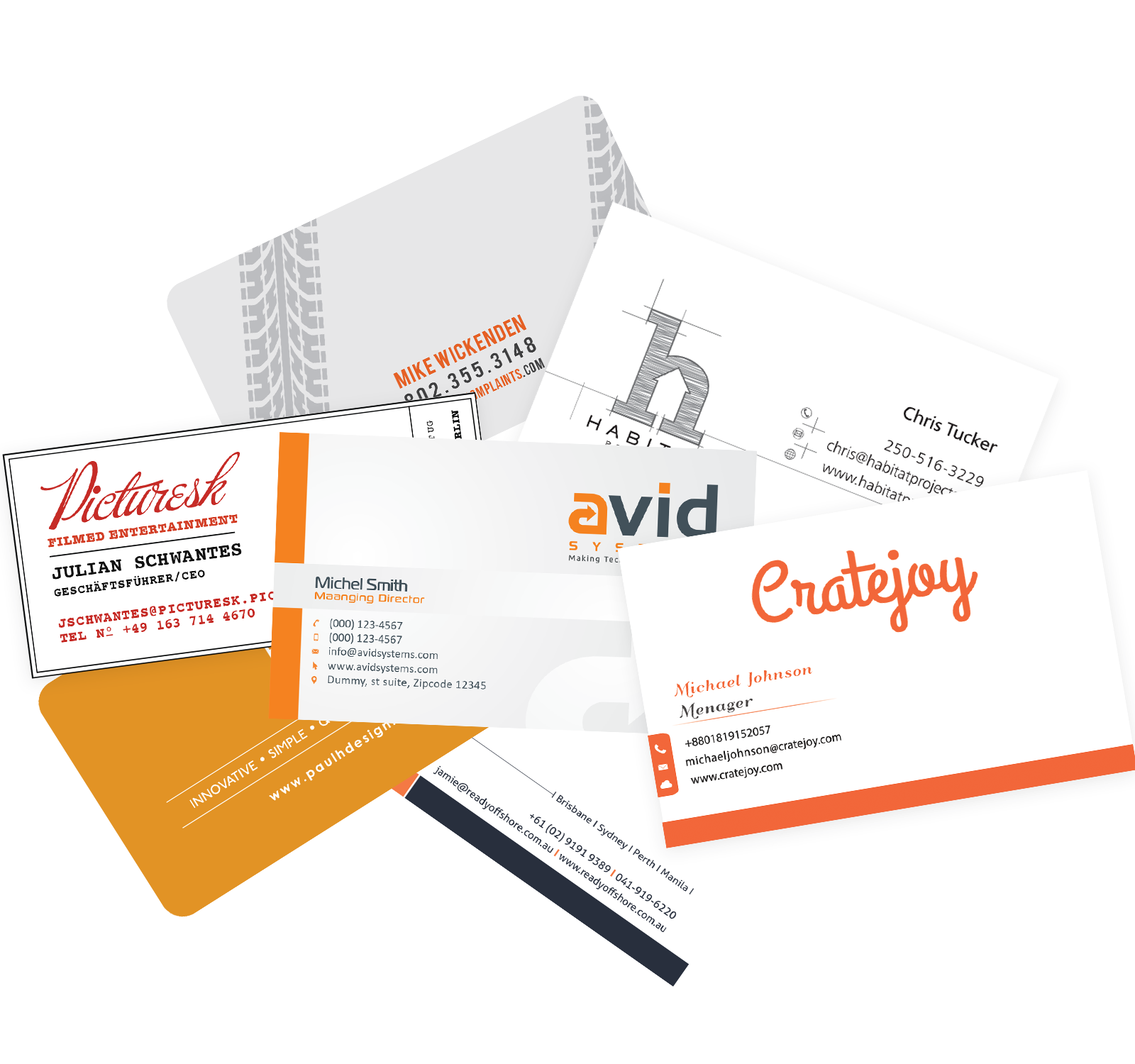 In what format to save business cards and booklets, created in Photoshop, for transfer to the printing house for printing