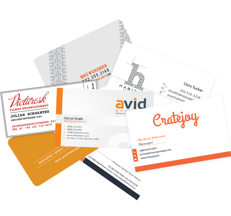 How To Design Business Cards Card Tips For