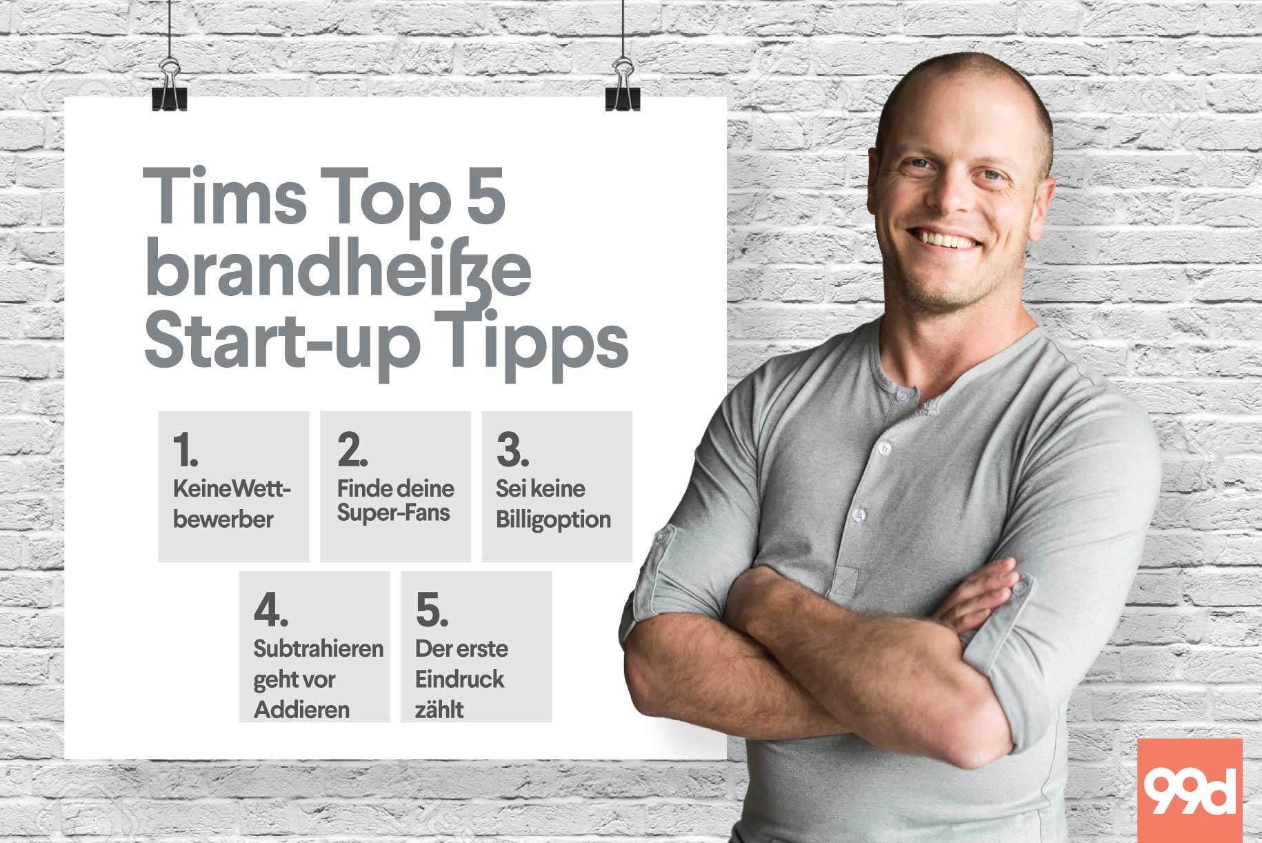 5 heiße Tipps um dein Start-up in Gang zu bringen