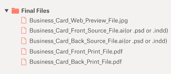 fonts for business cards