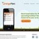 Runner up Web page design entry for OrangeParc