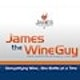 Runner up Social media page entry for James the Wine Guy