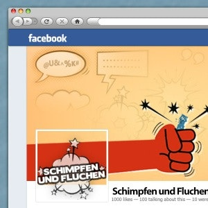 Winning Social media page entry for Schimpfen und Fluchen