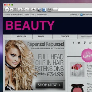 Winning Banner ad entry for Rapunzel Rapunzel