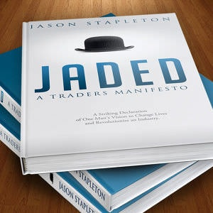 Winning Book cover entry for Jaded
