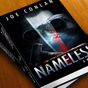 Winning Book cover entry for Nameless