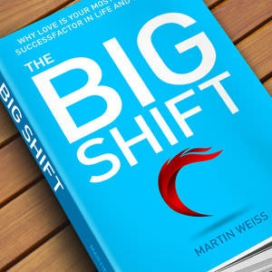 Winning Book cover entry for The Big Shift
