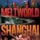 Runner up Book cover entry for Meltworld: Shanghai