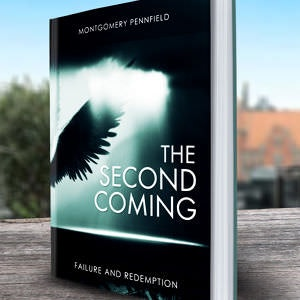 Winning Book cover entry for The Second Coming
