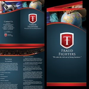 Winning Product packaging entry for Fraud Fighters